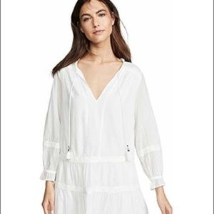 NWT!! PAIGE white Jaslene dress